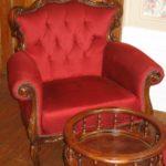 Hauts-de-France Pas de Calais Chateau de Moulin le Compte accommodatie fauteuil luxe