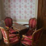 Hauts-de-France Pas de Calais Chateau de Moulin le Compte B&B salon met luxe zitje