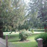 Centre-Val de Loire Indre Le Prieure tuin met bomen