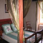 Centre-Val de Loire Indre Le Prieure vakantieverblijf slaapkamer stijlvol en luxe