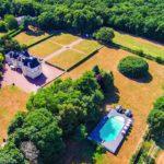 Nouvelle Aquitaine Vienne accommodatie kasteel met tuin en zwembad de Jalnay