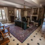 Nouvelle Aquitaine Vienne chambres dhotes luxe salon van chateau de Jalnay