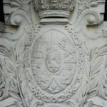 Nouvelle Aquitaine Vienne wapenschild bij B&B chateau de Jalnay