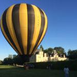 Nouvelle Aquitaine Vienne luchtballon bij kasteel de Jalnay chambres dhotes