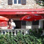 Ardeche Auvergne Rhone-Alpes chambres dhotes Auberge la Castagno sfeervol terras oude oliemolen huis