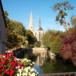 Centre-Val de Loire Loir-et-Cher accommodatie cote Jardin omgeving uitje rivier kerk