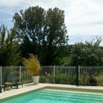 Lot Occitaine camping chambre dhotes met zwembad en uitzicht domaine de Velle