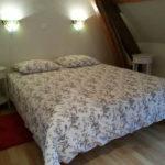 Allier Auvergne Rhone-Alpes slaapkamer accommodatie