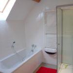 Allier Auvergne Rhone-Alpes badkamer met aparte douche vakantieverblijf