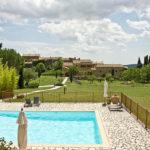 Gard Occitaine chambres dhotes met zwembad en vieuw