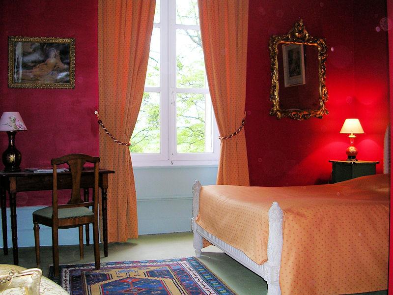chambresdhotes zoeken-chateau-la-commanderie slaapkamer