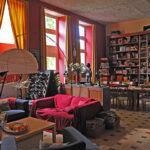 Allier Auvergne Rhone-Alpes vakantieverblijf bibliotheek