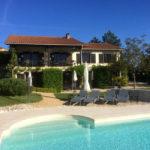 Dordogne Nouvelle Aquitaine chambres dhotes huis met zwembad