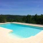 Dordogne Nouvelle Aquitaine B&B zwembad en vieuw