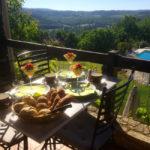 Dordogne Nouvelle Aquitaine ontbijt B&B