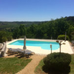 Dordogne Nouvelle Aquitaine zwembad