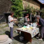 Charente Nouvelle Aquitaine pottenbakken