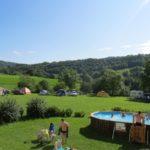 Ain Auvergne Rhones-Alpes camping en zwembad