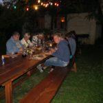 Ain Auvergne Rhones-Alpes camping tafel eten