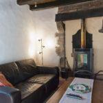 Auvergne Rhone-Alpe woonkamer haard
