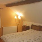 chambres-dhotes- Auvergne Rhone-Alpe Puy de Dome slaapkamer